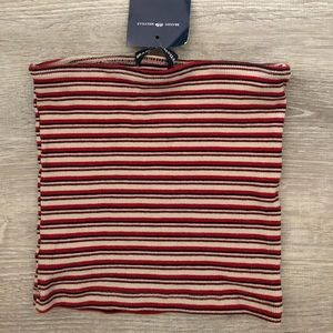 brandy melville stripped tube top